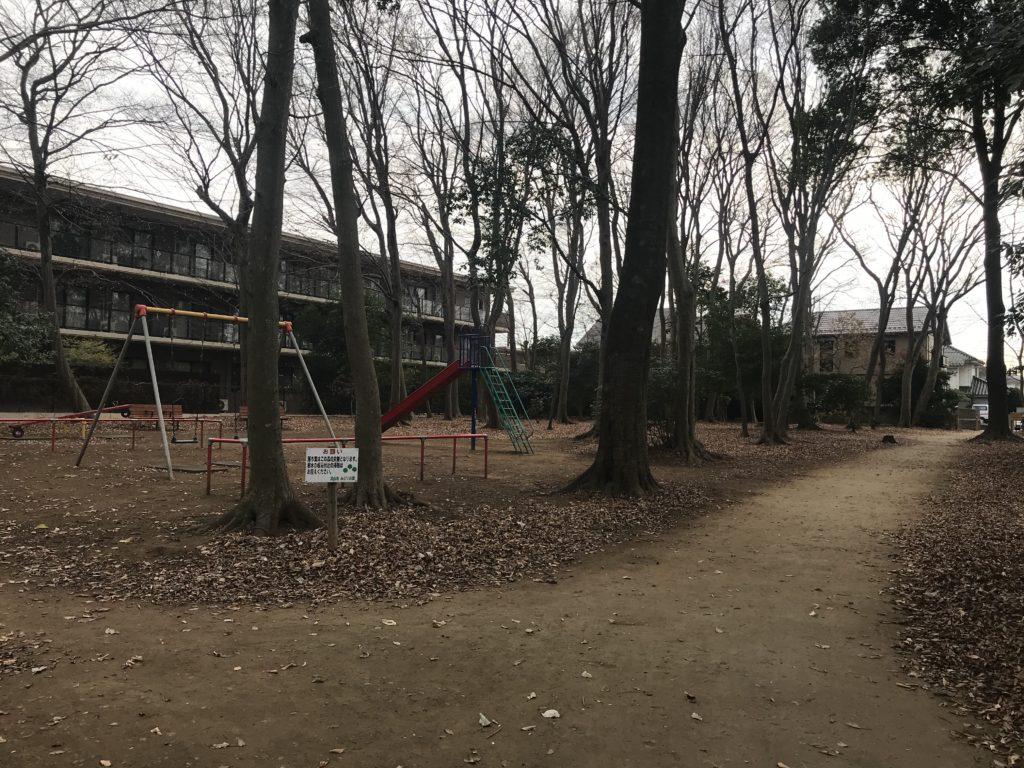 じゅじゅ松ヶ丘公園隣接のふるさとの森公園1