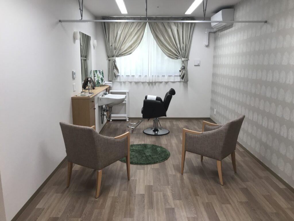 介護付き有料老人ホームイリーゼ四街道多目的室