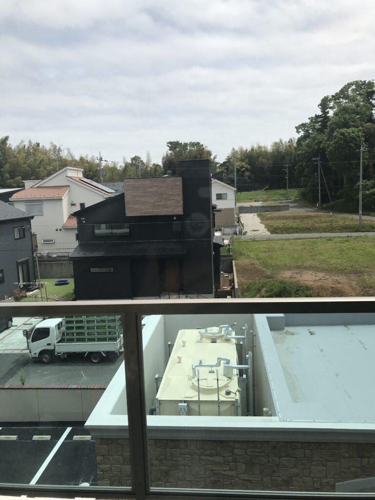 イリーゼ四街道居室窓からの眺め南向き