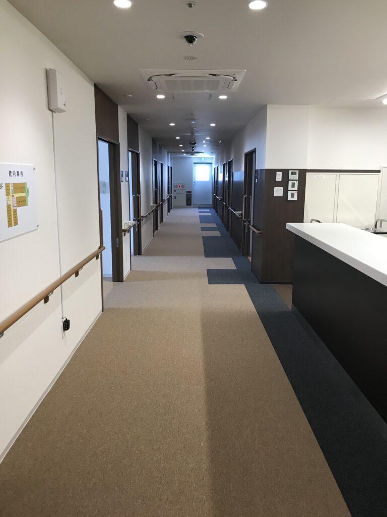 住宅型有料老人ホーム医心館蘇我廊下