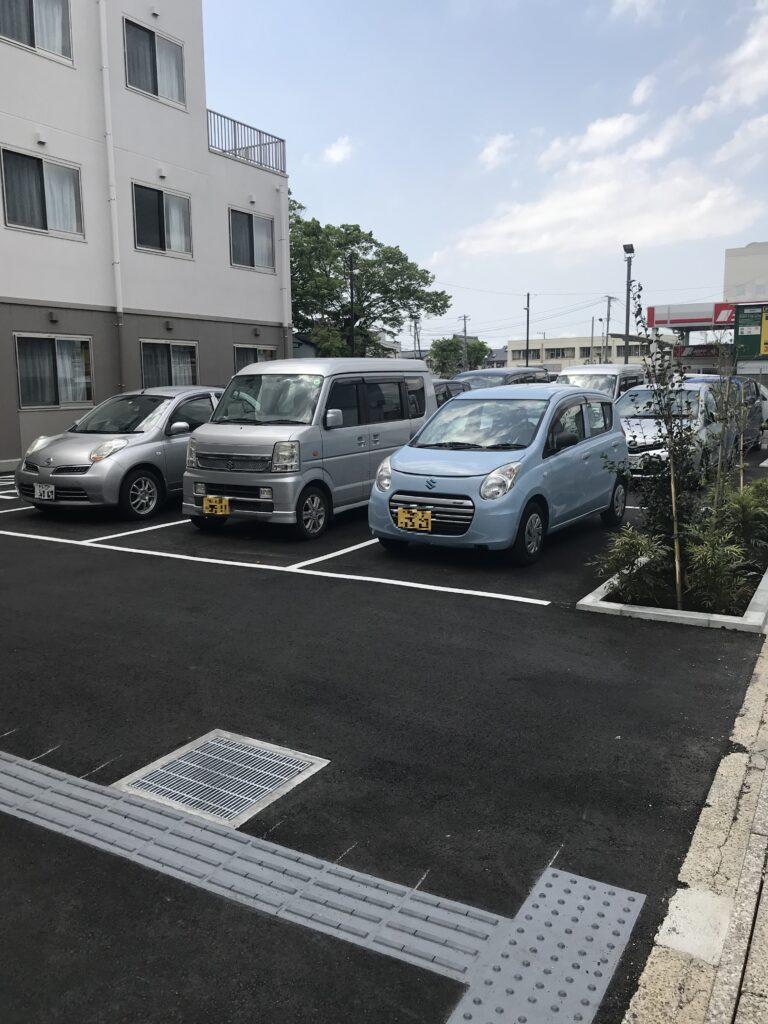 住宅型有料老人ホーム医心館蘇我駐車場