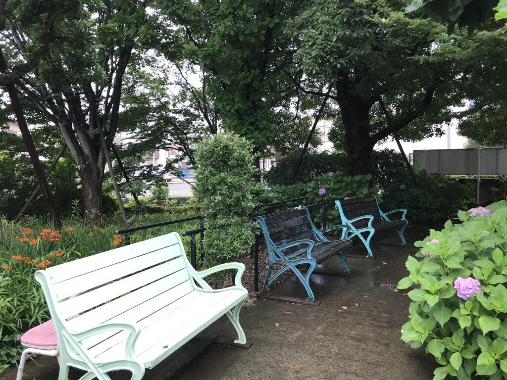 ケアライフ船橋敷地内公園