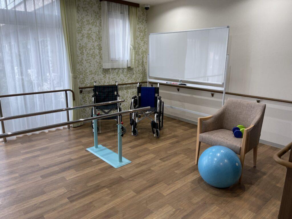 イリーゼ西志津機能訓練室